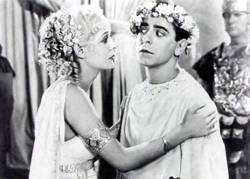 "Gloria Stuart and Cantor, ""Roman Scandals"""